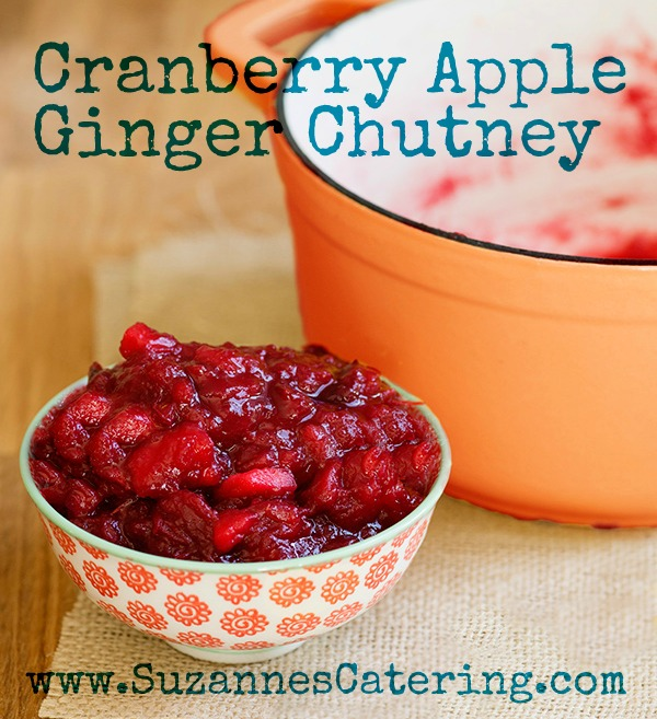Cranberry-Apple-Ginger-Chutney