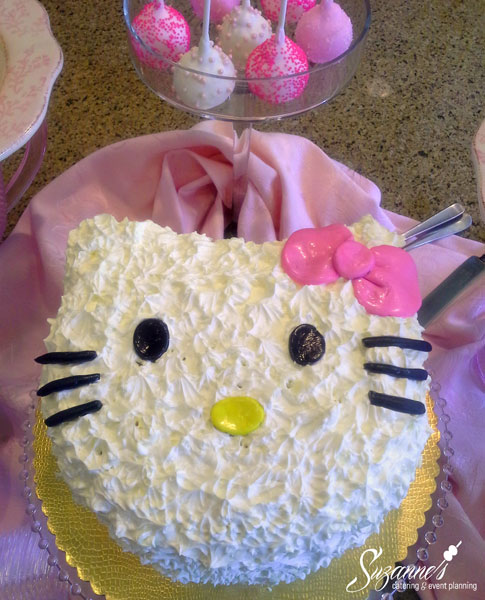 Hello Kitty Bridal Shower Catering Event Planning
