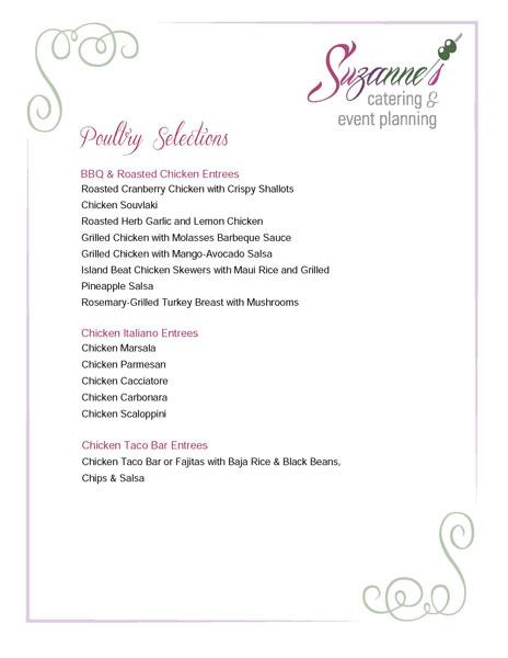Suzannes-Catering-Poultry-Menu-Page-2